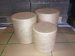 small all fiber drums