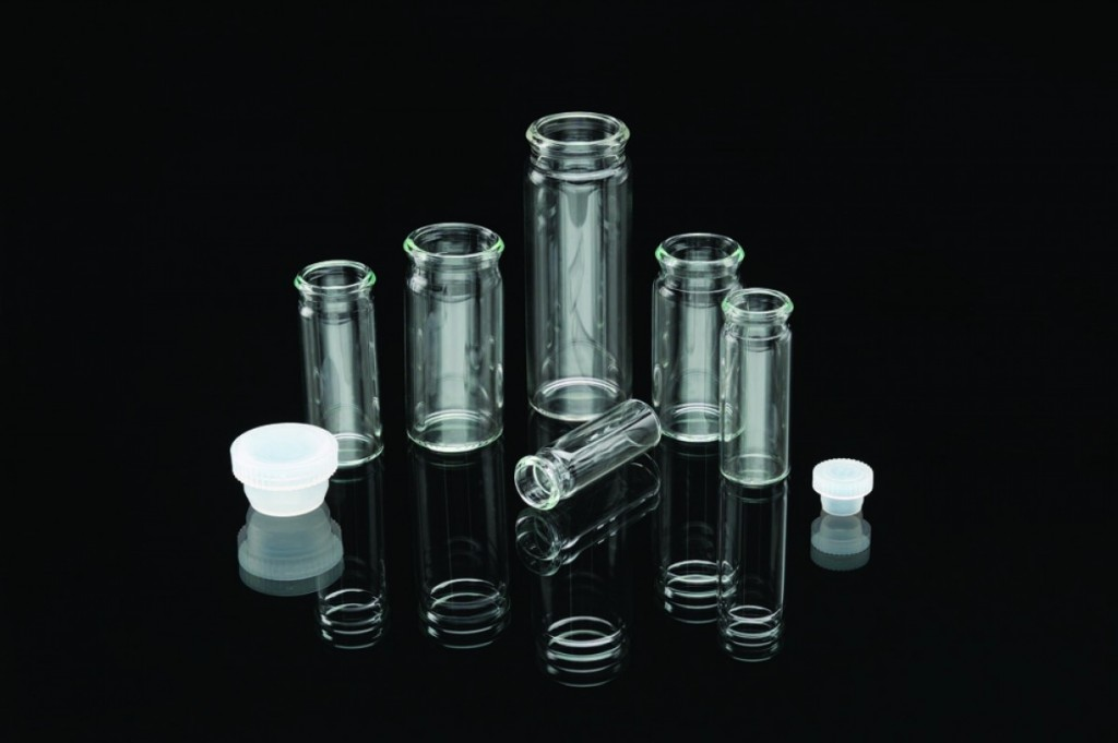 display vials