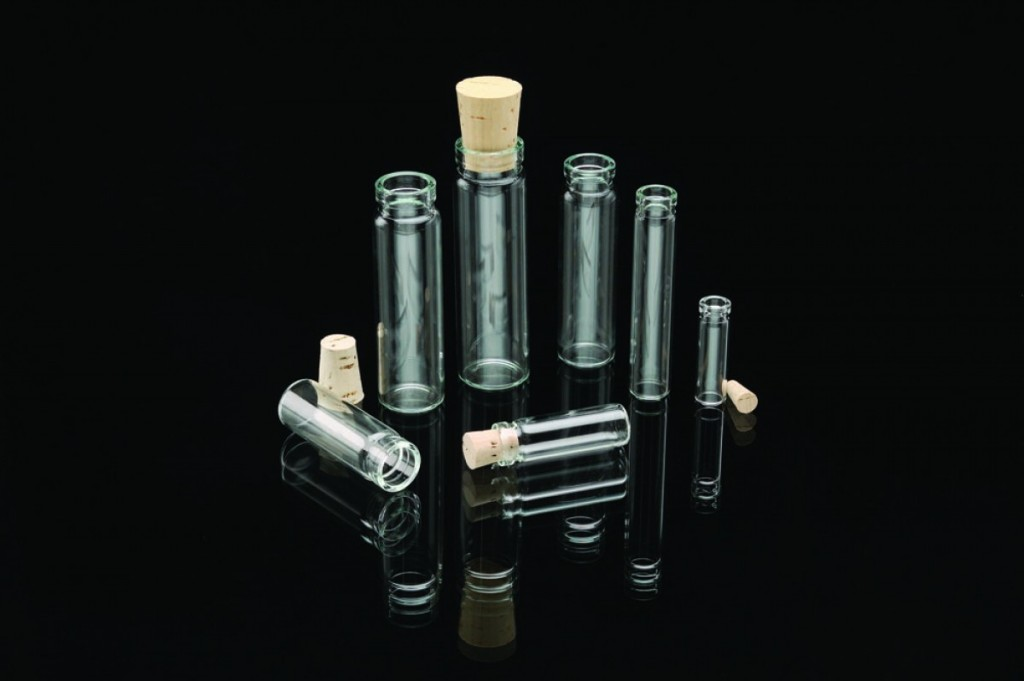 patent lip cork stopper vials