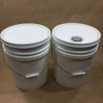 UN Rated liquid pails spouted and plain cover
